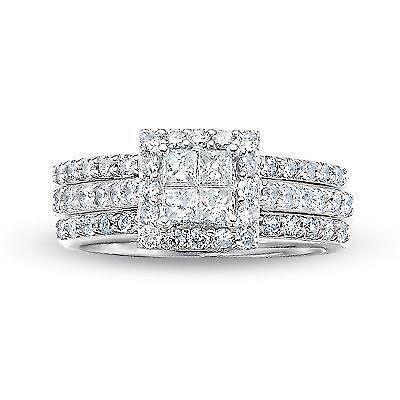 Quad Princess Diamond Ring Ebay