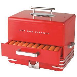 Nostalgia-Electrics-INNOVA-Diner-Style-Hot-Dog-Steamer-Red