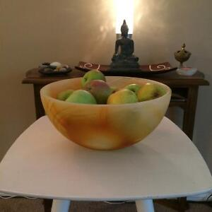 Funky Glass Fruit Bowl