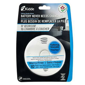 2 Kidde Bedroom Smoke Detectors - New and half the price