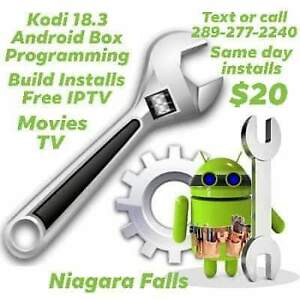 Android Box Kodi 18.3 Build Programming