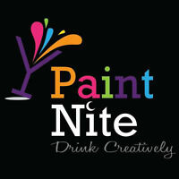 PaintNite Drink Creatively in Niagara!