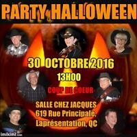party HALLOWEEN dimanche country