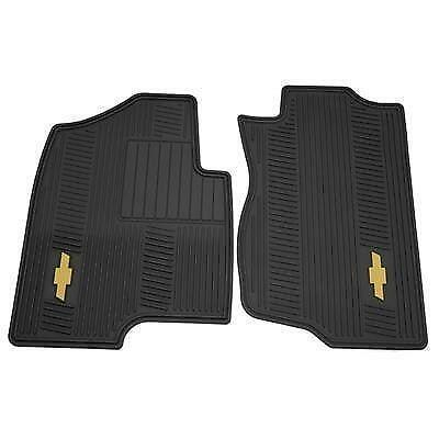 premium oem all floor chevy mats slush silverado vinyl gm weather p