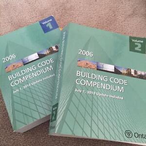 Ontario Building Code Compendium 2006 Volume 1 & 2