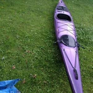 Kayak de mer KSL Vector FULL CARBONE 17 1/2 pieds+ 500$ d'access