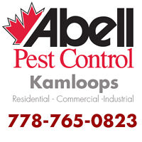 Guaranteed Pest Control Services for Kamloops/778-765-0823