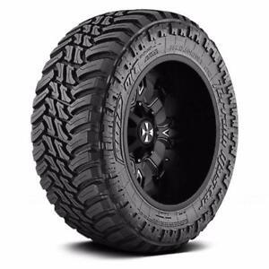 "33x12.50R22 AMP Terrain Gripper A/T Tires * Snowflake Rated * 22"" x 33"" tall"