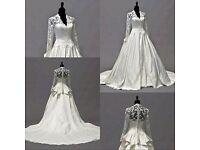 Kate M style wedding dress