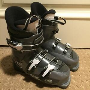Boys Rossignol Comp J Junior Ski Boots Size 23.5.US Youth 4