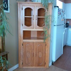 armoire en coin