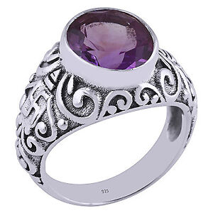 Lovely Amethyst ladies ring size