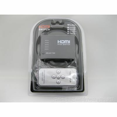 RM-501 HDMI Switch 5 In 1 With Remote Control