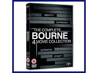 Bourne movie collection new £10