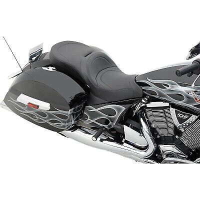 Drag Specialties - 0810-1540 - Low-Profile Touring Seat for Victory OEM Backrest