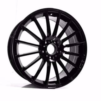 18 inch Renault Clio Sport 2013 wide pack tyres and wheels black