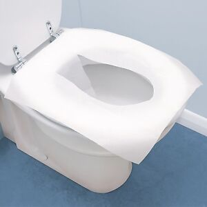Discreet Toilet Seat covers or liners-Clean & Fresh Anywhere NEW