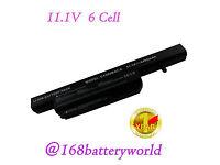 Li-Ion Laptop Battery Pack Stone or Clevo model C4500BAT-6