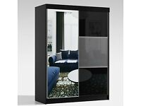 🌷🌷CLEARANCE STOCK MUST GO🌷🌷BRAND NEW MANHATTAN HIGH GLOSS SLIDING WARDROBE🌷🌷AVAILABLE NOW🌷🌷
