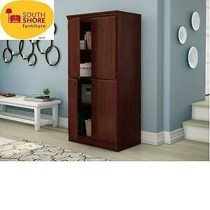 NEW* SOUTH SHORE STORAGE CABINET 7246971 225158819 ROYAL CHERRY