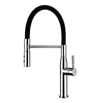 Yohom 304 Stainless Steel Kitchen Sink Faucets Single Handle With