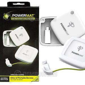 """PowerMat Wireless Charging Powercube Universal Receiver """"New"""""""