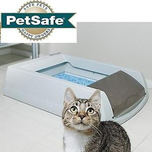 NEW PETSAFE CAT LITTER BOX PAL19-14657 187570157 AUTOMATIC SELF CLEANING WITH DISPOSABLE TRAY