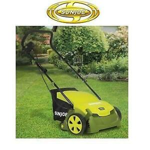 NEW* SUN JOE LAWN DETHATCHER AJ801E 244646189 12 AMP 13 ELECTRIC WITH COLLECTION BAG
