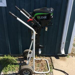 USED 2.5 HP LEHR PROPANE OUTBOARD MOTOR