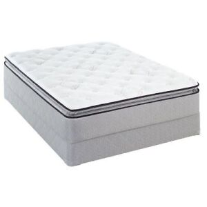 Sealy Queen Size Matching Mattress & Box Spring