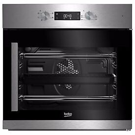NEW - Beko BIF22300XR Built In Electric Single Oven, Stainless Steel - BARGAIN PRICE @ £150