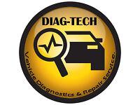 VEHICLE DIAGNOSTICS & REPAIR SERVICE - MOBILE DIAGNOSTICS