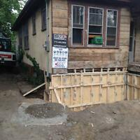 Waterproofing foundation repairs structural collaspse