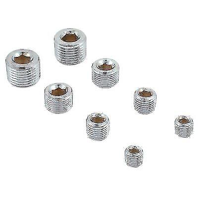 - Spectre Performance 60183 Pipe Plug Kit (Chrome)