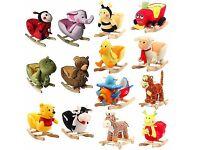 FoxHunter New Animal Rocker Baby Kids Rocking Toddler Infant Children Toy Gift