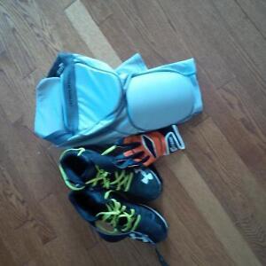 chaussures, gaine, gants