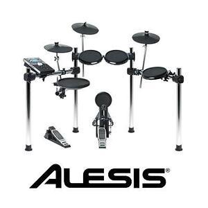 NEW ALESIS 8PC ELECTRONIC DRUM SET - 112545881 - FORGE KIT - ELECTRONIC DRUM SET WITH FORGE DRUM MODULE AND USB PORT