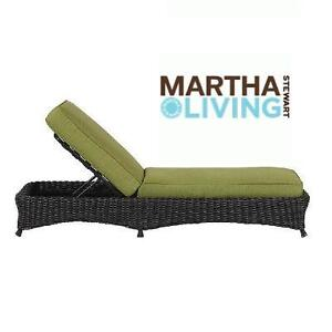 NEW* MSL PATIO CHAISE LOUNGE - 128766669 - MARTHA STEWART LIVING