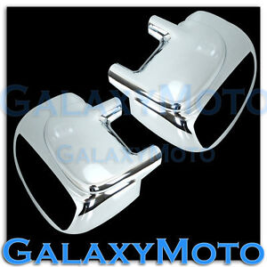 Ford-99-07-Super-Duty-F250-F350-450-W-Turn-Signal-HOLE-Chrome-Mirror-Cover-Pair