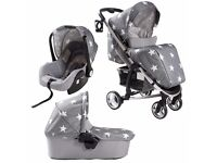 Billie faiars 3 way travel system and changing bag
