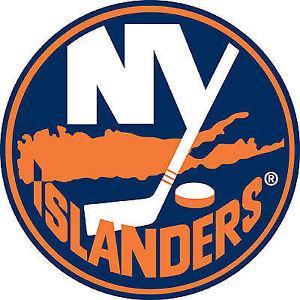 Oilers vs Islanders (Aisle seats and on the blue line)