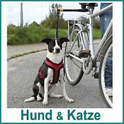 Fahrradhalter Hund