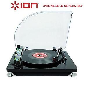 NEW ION ILP CONVERSION TURNTABLE IT41 214814655 DIGITAL  FOR iPHONE iPAD iPOD 30 PIN