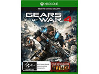 GEARS OF WAR 4 - WITH GEARS OF WAR COLLECTION - BRAND NEW AND SEALED FOR XBOX ONE