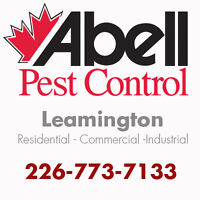 Guaranteed Pest Control Services for Leamington/226-773-7133