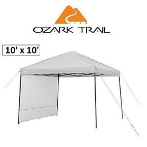 OB OZARK TRAIL GAZEBO WITH SUNWALL 30510 201228635 10' x 10' OPEN BOX