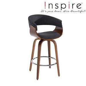 NEW !NSPIRE COUNTER STOOL - 107925875 - CHARCOAL GREY