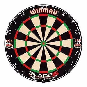 New Winmau Blade 5 Dartboard FREE SHIPPING Professional Dart Board Darts Unicorn Harrows Bristle Cabinet Blade 4 Dual