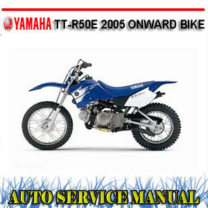 Yamaha tt r50e ttr50e 2005 onward bike workshop service for Yamaha ysp 5600 manual