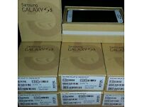 brand new samsung Galaxy s5 unlocked Come With Box Accessoires